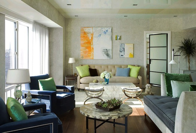 Best Ways To Redecorate With Green: Decorate Fresh Interior In Easy Way : HouseBeauty