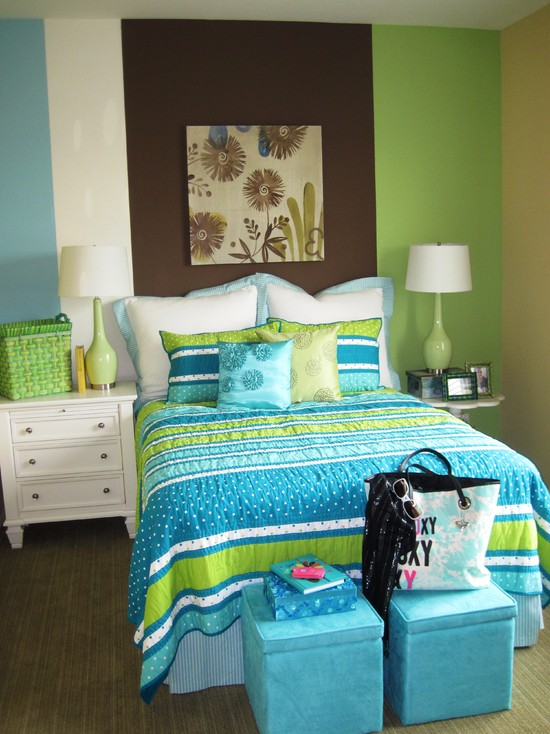 Room Color Ideas For Teenage Girls: Cute Bedroom Furniture For Teenage Girls With Hello Kitty