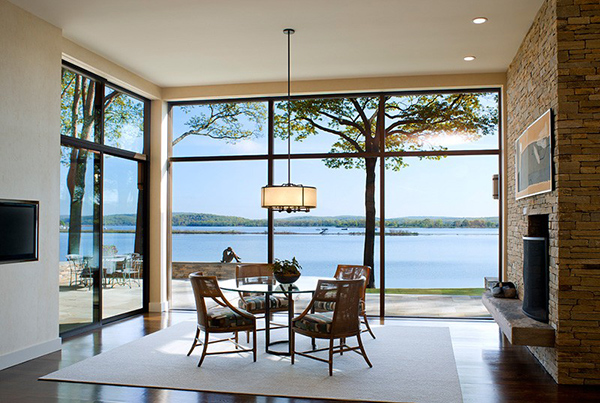 Connecticut Home Dining Space