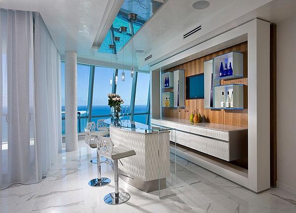 Jade Ocean Penthouse Excellent Home Bar