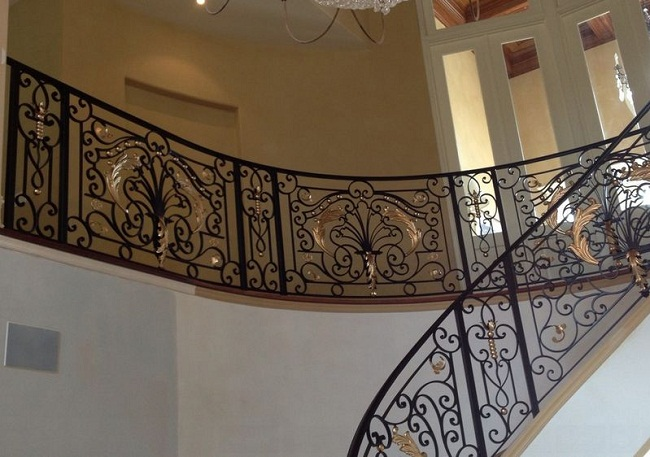 New Design Traditional Wrought Iron Railings Designs