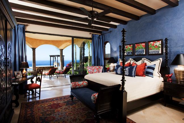 Stunning Bedroom with Beautiful Balconies
