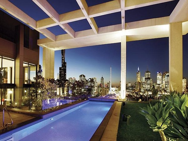 The Melbournian Luxury Penthouse View