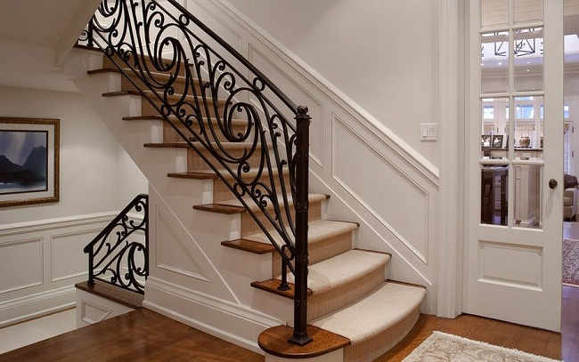 Traditional Wrought Decorative Iron Railings