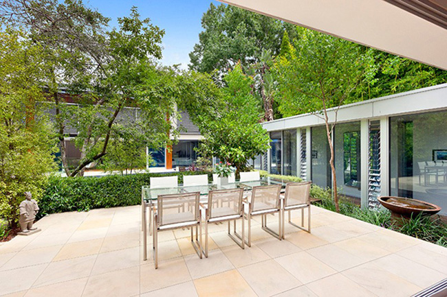 Wahroonga House Outdoor Dining Space