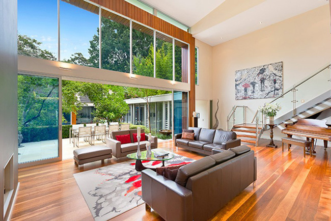 Wahroonga House Wooden Floor