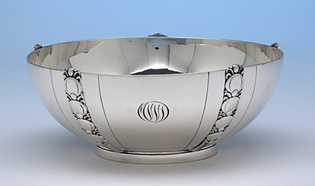 Silver Salad Bowl
