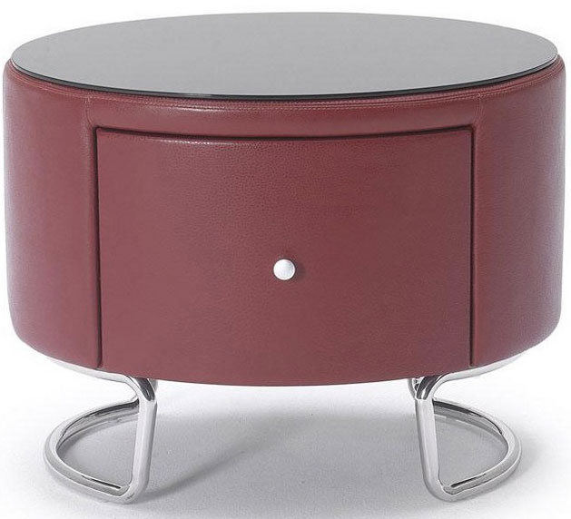 Drum Shaped with Drawer