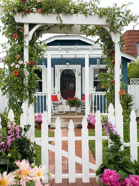 Colourful Entryway