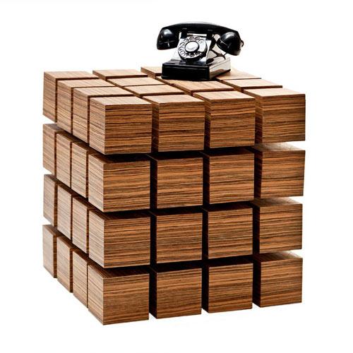 Floating Blocks Table