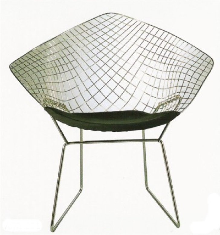 Harry Bertoia's Wire Chairs