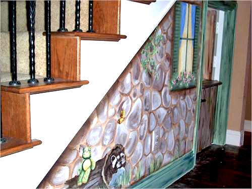 Under-stair Kidroom