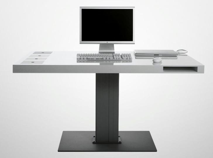 Milk's Wireless Computer Desk